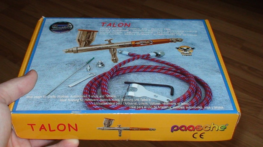 Paasche Talon Review box1 - Paasche Talon Airbrush Review