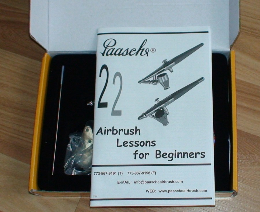 Paasche Talon Review manual - Paasche Talon Airbrush Review