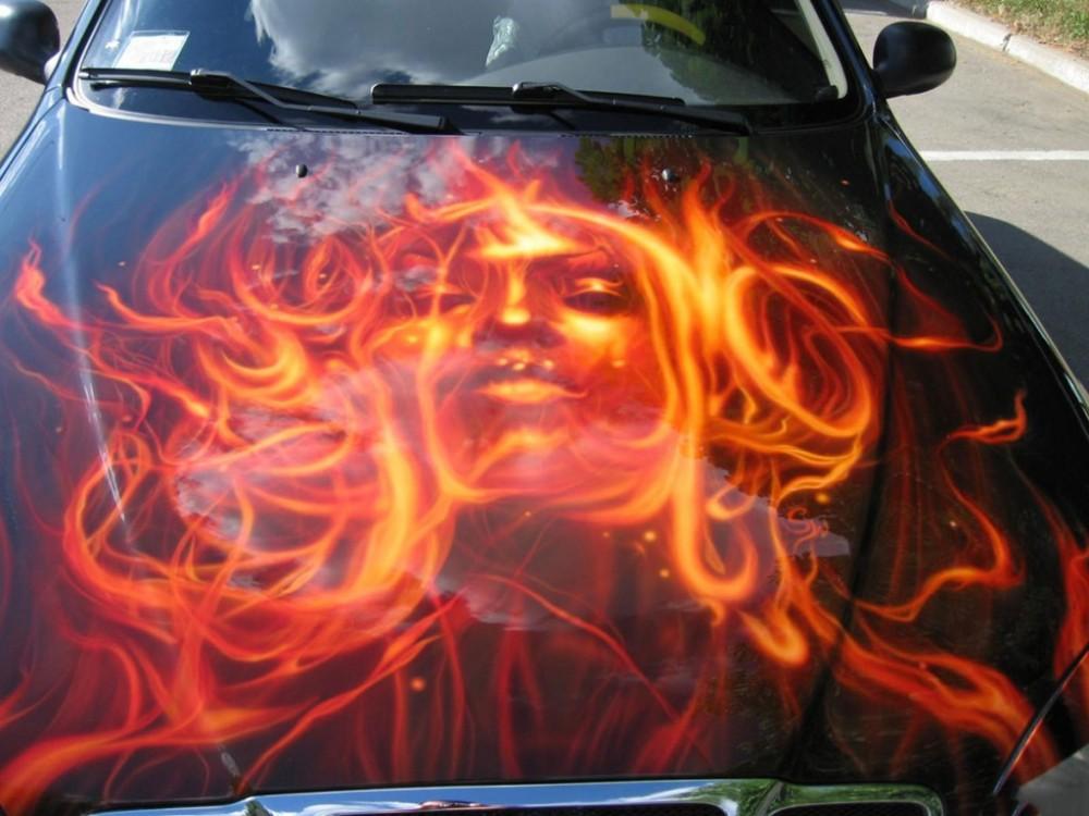 airbrush car 4 1000x750 - Airbrush Shockwave from Eastern Europe