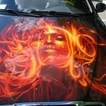 airbrush car 4 150x150 - Airbrush Art from Marlon Navarro Duran