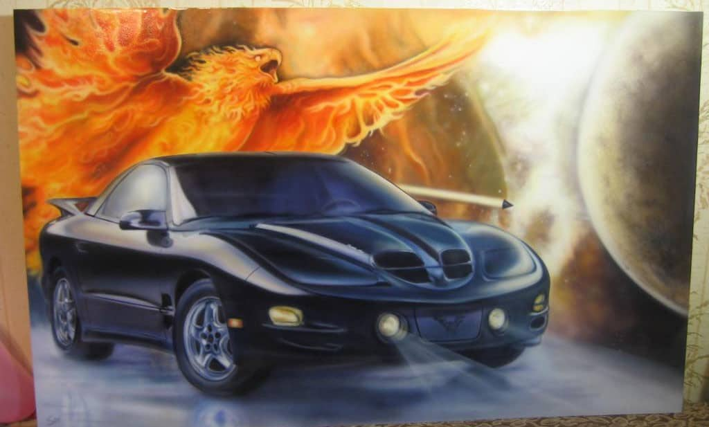 shockwave airbrush mural 1 - Airbrush Shockwave from Eastern Europe