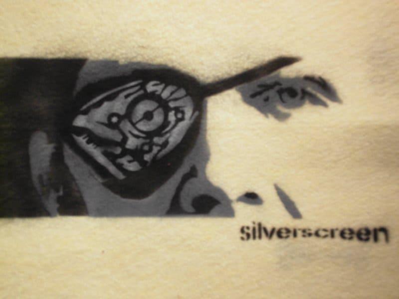 street art silverscreen - Street Art Airbrush from Per Corell