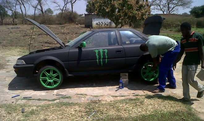 Monster Energy Theme Car 22 660x393 - Monster Energy Car from Zambia