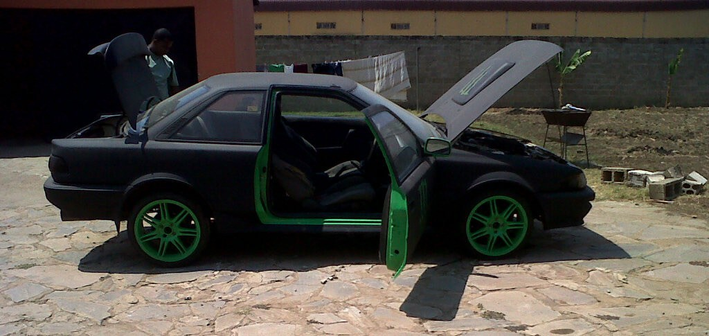 Monster Energy Theme Car 23 - Monster Energy Car from Zambia