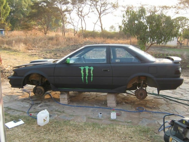 Monster Energy Theme Car 24 660x495 - Monster Energy Car from Zambia
