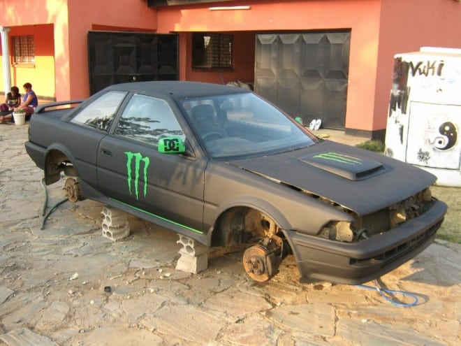 Monster Energy Theme Car 25 660x495 - Monster Energy Car from Zambia