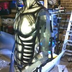 airbrushed sculpture 2 150x150 - Airbrush Designs from Steven Lane