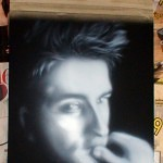 airbrush portrait 2 150x150 - Airbrushing a Birthday Present