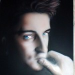 airbrush portrait 3 150x150 - Airbrushing a Birthday Present
