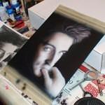 airbrush portrait 5 150x150 - Airbrushing a Birthday Present