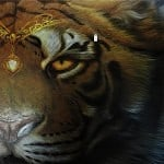 Airbrush Tiger Car Hood 24 150x150 - Airbrush a Tiger on The Car Hood Without Any Stencil