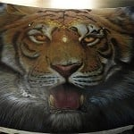Airbrush Tiger Car Hood 25 150x150 - Airbrush a Tiger on The Car Hood Without Any Stencil