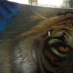 Airbrush Tiger Car Hood 28 150x150 - Airbrush a Tiger on The Car Hood Without Any Stencil