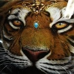 Airbrushed Tiger