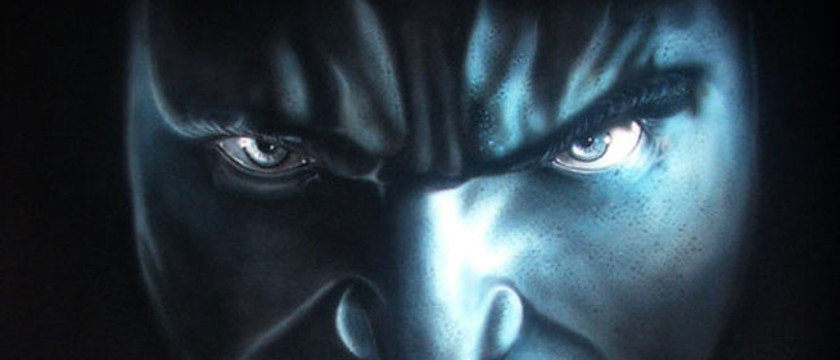 Hulk airbrush final1 - How to Airbrush Black T Shirt (Hulk)