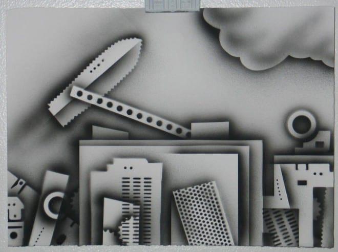 Frank Gavere Airbrush Art 1 660x492 - Airbrush Art from Frank Gavere, MFA
