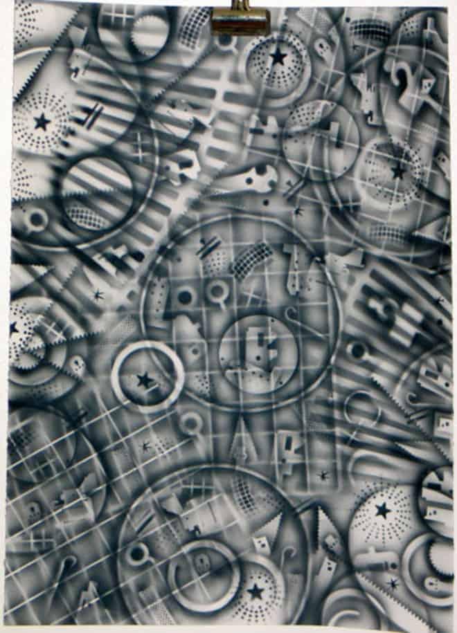 Frank Gavere Airbrush Art 10 - Airbrush Art from Frank Gavere, MFA