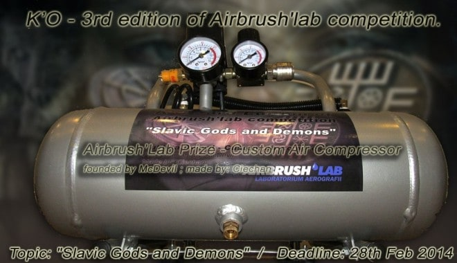 airbrushlab award 660x380 - Airbrush Competition - Slavic Gods and Demons