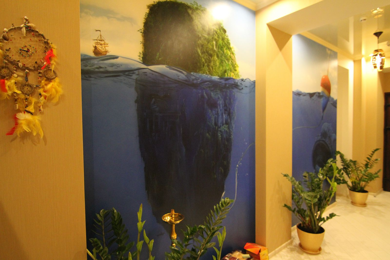 aquarium 03 - Habibulin Azat - Airbrush in Briansk